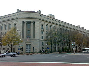 English: The US Department of Justice (DoJ), W...