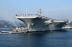 Seven Days in May - Supercarrier Kitty Hawk in 2002