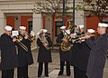 US Navy 031217-N-1375K-001 Sixth Fleet Musicians herald in the holiday season with festive brass melodies.jpg