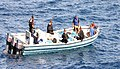 US Navy 051201-N-5858X-001 Sailors intercept a vessel suspected of carrying illegal contraband in the Central Caribbean Sea.jpg