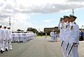 US Navy 070914-N-2468S-002 Seabees of NMCB-11 pass and review during their commissioning ceremony.jpg