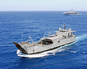 BRP Bacolod City (LC-550), lead ship of the Ba...