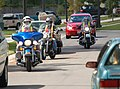 US Navy 090921-N-3932P-001 Motorcyclists practice driving in traffic during the Street Rider course in the Patriot Point Family Housing area at Naval Air Station Jacksonville.jpg