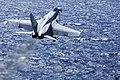 US Navy 100713-N-2918M-085 An F-A-18C Hornet launches from the aircraft carrier USS Nimitz (CVN 68).jpg