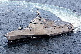 US Navy 130823-N-EW716-001 USS Coronado conducts at-sea acceptance trials.jpg