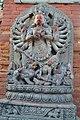 Ugrachandi image, Bhaktapur Durbar Square, NEPAL.jpg