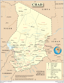 Geography of Chad African country