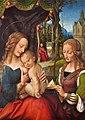 Unbekannter Mahler, 16.Jh. - Heilige Familie mit der heiligen Barbara.jpg