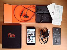 7008bf7971a2e8 British market 32 GB version unboxed. The Fire Phone ...
