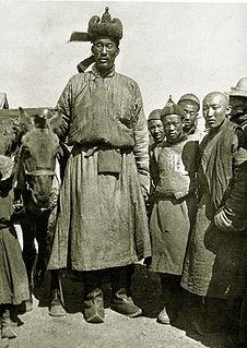 Öndör Gongor Mongolian tall man