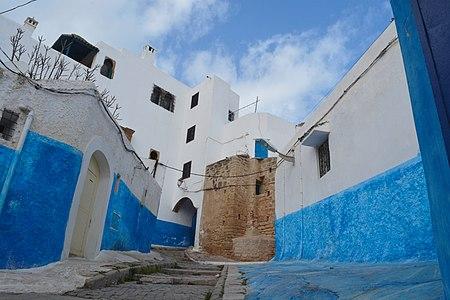 Une ruelle de la Kasbah des Oudayas.jpg