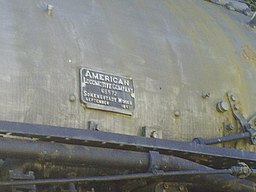 Union Pacific 4014 Builders Plate (10982966314)