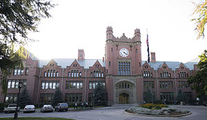 National Register of Historic Places listings in Latah County, Idaho - Image: University of Idaho Administration Building east side