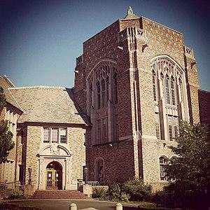 University of Washington School of Drama - Image: University of Washington Hutchinson Hall