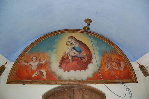 Unterstalleralm - Kapelle hll. Chrysanth und Daria Gemälde