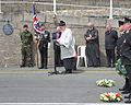 Unveiling plaque World War II evacuees Jersey 2013 04.jpg
