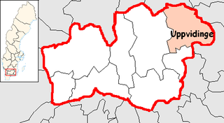Uppvidinge Municipality Municipality in Kronoberg County, Sweden