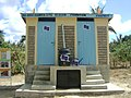 Urine Diversion Dehydration Toilet at Mwijo Primary School (4460239832).jpg
