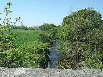 Urr Water - Image: Urr Water upstream