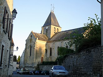 Us, Val-d'Oise - The church in Us