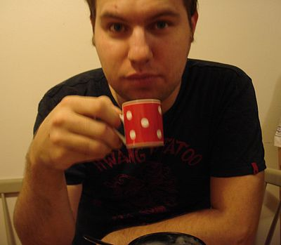 User Skagedal with coffee.jpg