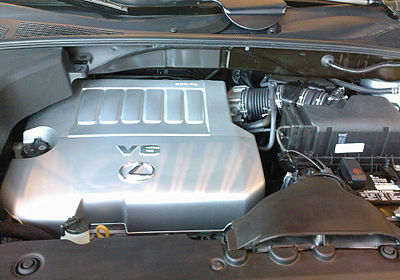 2GR-FE engine in the 2008 Lexus RX 350 - Toyota GR engine