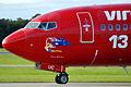 VH-VUC 'Foxy Rock'sy' Boeing 737-8FE Virgin Blue (Virgin Australia) (9717609173).jpg
