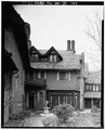 VIEW NORTHWEST TO BREAKFAST ROOM - Stan Hywet Hall, 714 North Portage Path, Akron, Summit County, OH HABS OHIO,77-AKRO,5-144.tif