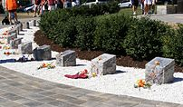 Virginia Tech massacre memorial on the campus ...
