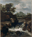Van Ruisdael, Jacob - A Waterfall - Google Art Project.jpg