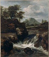 Van Ruisdael, Jacob - A Waterfall - Google Art Project.jpg