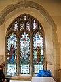 Vandalised church window, Horley - geograph.org.uk - 534472.jpg