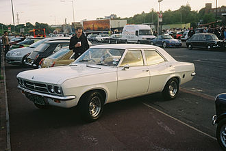 Randall and Hopkirk (Deceased) - Image: Vauxhall Victor white