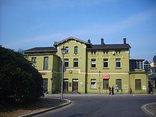Velbert-Langenberg station railway station in Velbert, Germany