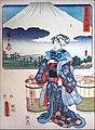 Vendeuse de Saké à Hara, 13è station du Tokaido (Musée Guimet MNAAG, Paris) (48566760486).jpg