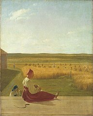In the Harvest Field. Summer