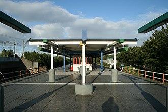 Venserpolder metro station - Image: Venserpolder 01