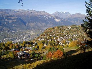 Place in Valais, Switzerland