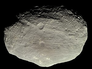 Dwarf planet - 4 Vesta, one of the largest asteroids