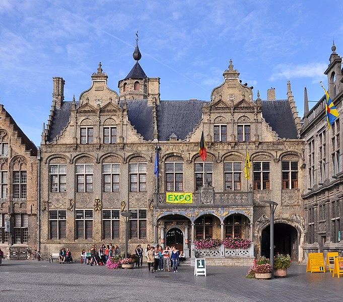 Veurne (Belgium): town hall