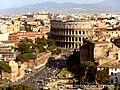 Via dei Fori Imperiali and Colisseum view.jpg
