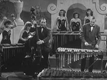 Файл:Vibraphone Orchestra, early 1940s.ogv