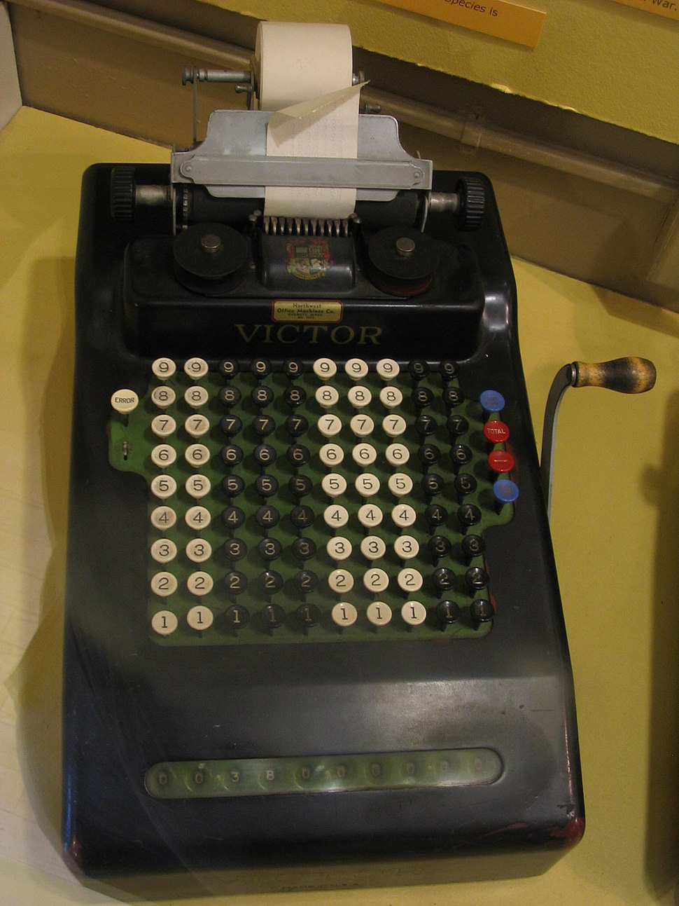 Victor-comptometer
