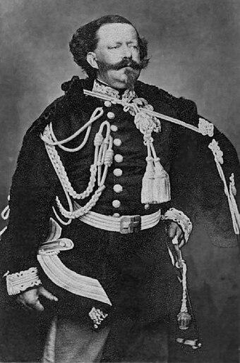 Victor-Emmanuel II de Savoie.