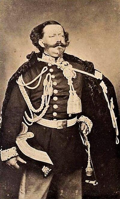 Víctor Manuel II de Italia.