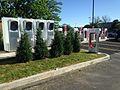 Victor NY (Rochester) Tesla supercharging station 05.jpg