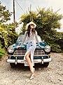 Victoria Baker with Vintage Car.jpg