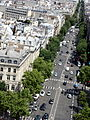 View from Arc de Triomphe 20 2012-07-02.jpg