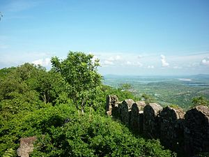 Ramagiri Fort - View from the Ramagari Fort