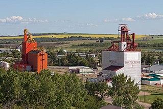 Turtleford Town in Saskatchewan, Canada